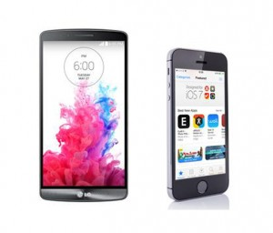 lg g3 apple iphone 5s comparison