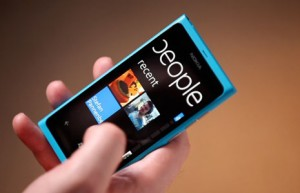 microsoft windows phone nokia lumia cyan