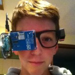 Google Glass 13 year old creates his own version