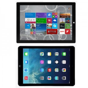 Microsoft Surface Pro 3 vs Apple iPad Air – can they really replace the laptop