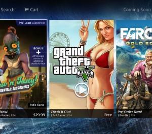 Sony marks GTA V as 'Free' on the PSN Store