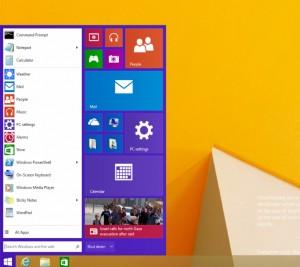 Windows 9 Leaked Screenshots Metro Apps in Windowed Mode, Start Menu Returns 1