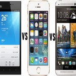 iPhone 5S vs Xiaomi Mi3 vs HTC One M8 Is the new kid on the block
