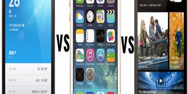 iPhone 5S vs Xiaomi Mi3 vs HTC One M8: Is the new kid on the block?