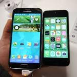 Samsung Galaxy S5 vs Apple iPhone 5S Price Specs Comparison