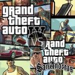 GTA IV vs GTA San Andreas - Niko Bellic or Carl Johnson