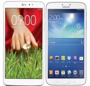 LG G Pad 8.3  vs Samsung Galaxy Note 8 - Price, Design
