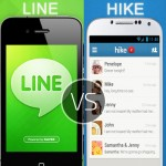 Line Messenger vs Hike messenger for Android, iOS
