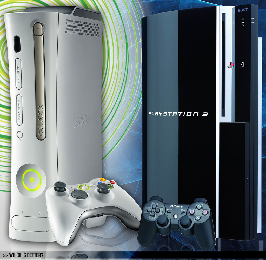 microsoft xbox 360 vs sony playstation In the game console ranking, sony playstation 4 performs better than microsoft xbox one find out why.