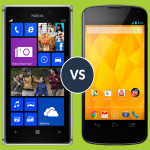 Nokia Lumia 925 vs Nexus 4: top comparison of features