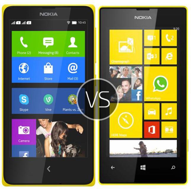 nokia x vs nokia lumia 520 android vs windows phone of the same family the rem. Black Bedroom Furniture Sets. Home Design Ideas