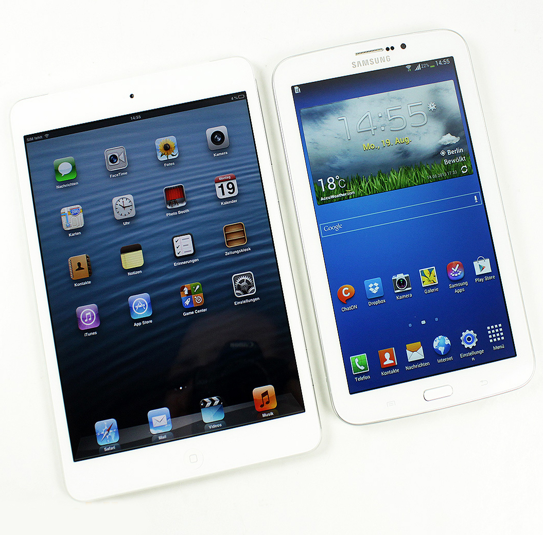 samsung galaxy tab 3 vs ipad mini which of the tablets. Black Bedroom Furniture Sets. Home Design Ideas