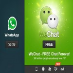 WeChat is the best voice message service than WhatsApp