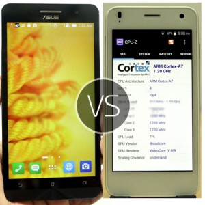Asus Zenphone 6 vs Lava Iris X1 – comparing the best prices and features