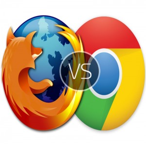 Chrome update vs Firefox download with security armor for Mac OS X and Windows 8.1