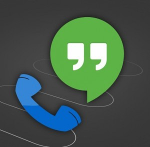how to call using hangouts android
