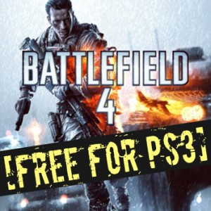 Free Battlefield 4 for PS3  to PlayStation Plus (PS Plus) members