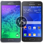 Galaxy Alpha vs Galaxy Core 2 comparison - Price, Design and Features