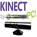 Kinect for PC connect with Microsoft's new $50 adapter