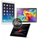 iPad Air vs Xperia Z2 vs Galaxy Tab S - comparison of the best of the best