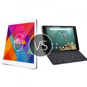 Is Nexus 9  fare against the new iPad Air 2