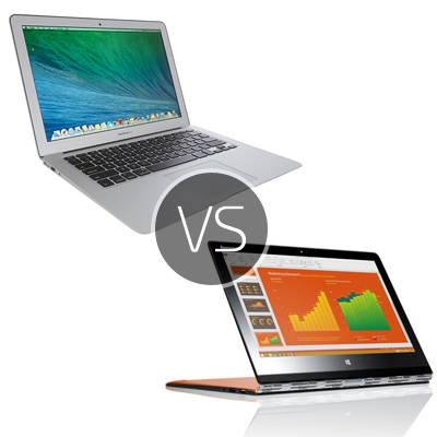 MacBook Air vs Lenovo Yoga 3 – Best comparison and review