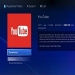 PS4 update with YouTube application support feature for users