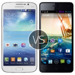 Samsung Galaxy Mega 58 vs Micromax Canvas Knight A350
