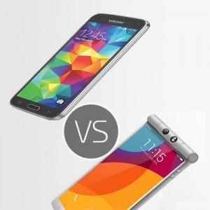 Samsung Galaxy S5 vs Oppo N3 – top comparison