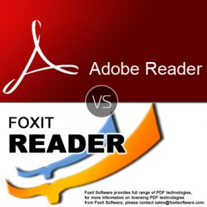 Adobe Reader or Foxit Reader – which is the better PDF reader