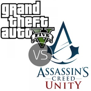 GTA V vs Assassin Creed Unity – How two very different games