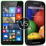 Microsoft Lumia 535 vs Motorola Moto G – clash of two low-ranged smartphones