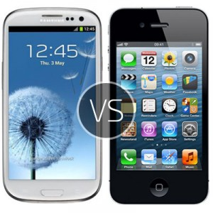 Samsung Galaxy S3 vs iPhone 4S – clash of the revolutionary phones