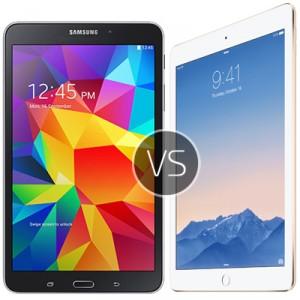 Samsung Galaxy Tab 4 vs Apple iPad Air 2 - comparison review