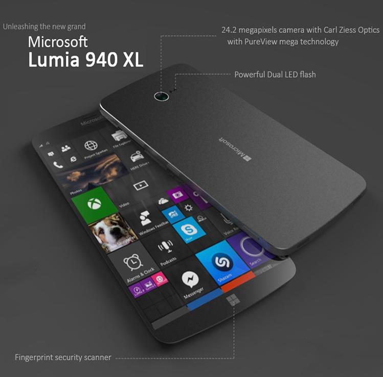 microsoft lumia 940 and lumia 940 xl release with windows