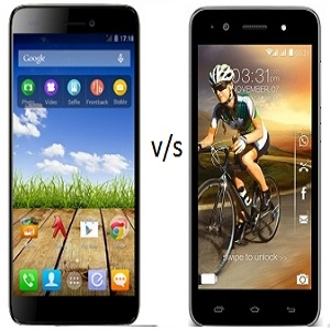 Karbonn Titanium Mach One vs Micromax Knight 2 - India at stake