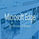 Microsoft Edge the new web browser,
