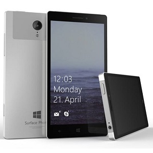 Microsoft surface phone with windows 10