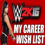 WWE 2K16 Career Mode
