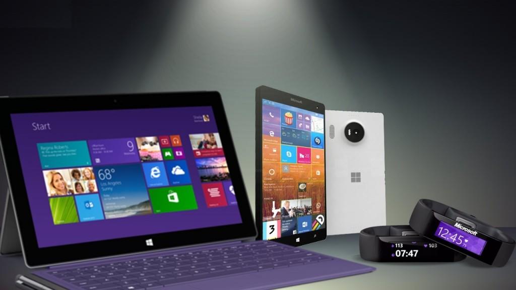 Microsoft Lumia 950, Lumia 950, Microsoft Band 2, XBOX Slim and Surface Pro 4