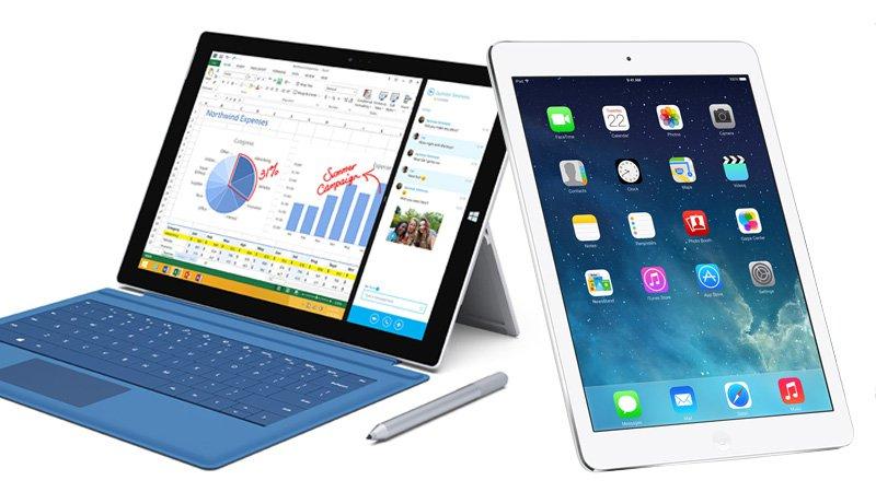 iPad Pro vs Microsoft Surface Pro 3