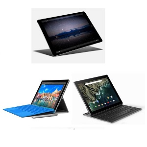 Microsoft Surface Pro 4 vs Google Pixel C vs Apple iPad Pro