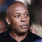 "Dr. Dre arrives at the Los Angeles premiere of ""Straight Outta Compton"" at the Microsoft Theater on Monday, Aug. 10, 2015. (Photo by John Salangsang/Invision/AP)"
