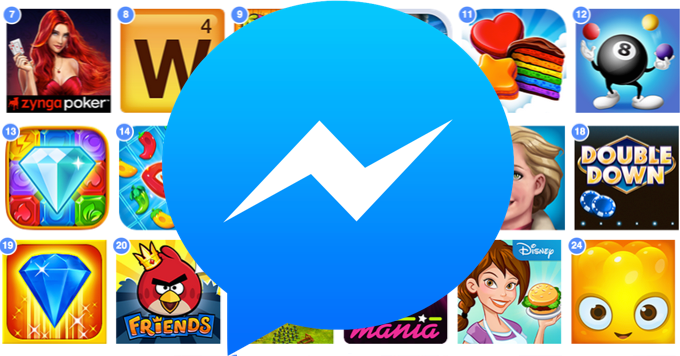Facebook adds Pac-Man, Galaga, and other classics to Messenger