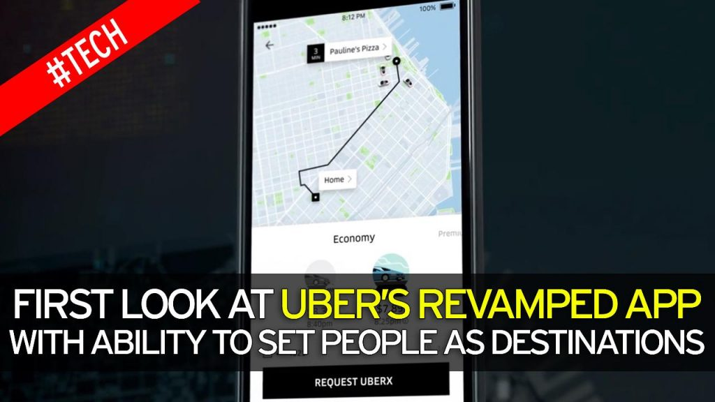 Thanks to the new Uber Update, you can turn your friend's shared location into new ride destination.