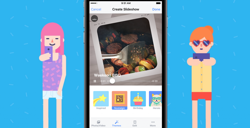 Many Facebook users can't shoot appealing videos and static photography is quite boring. May be that's why the social media giant decided to launch Facebook slideshow.