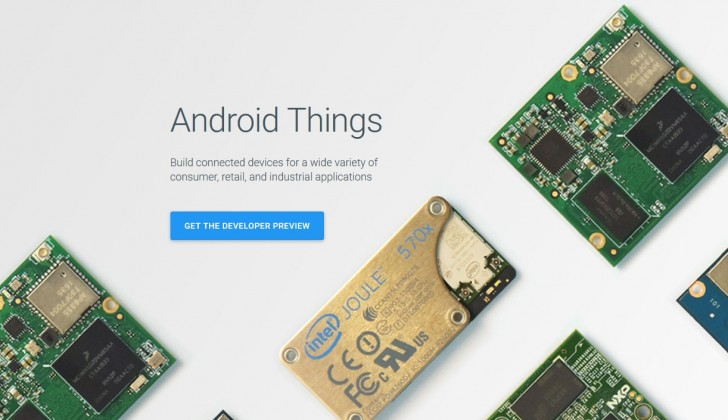 Android Things conveniently runs on thermostats, speakers, routers, security cameras and other smart hardware. The idea is to develop a smart platform for interconnected products.