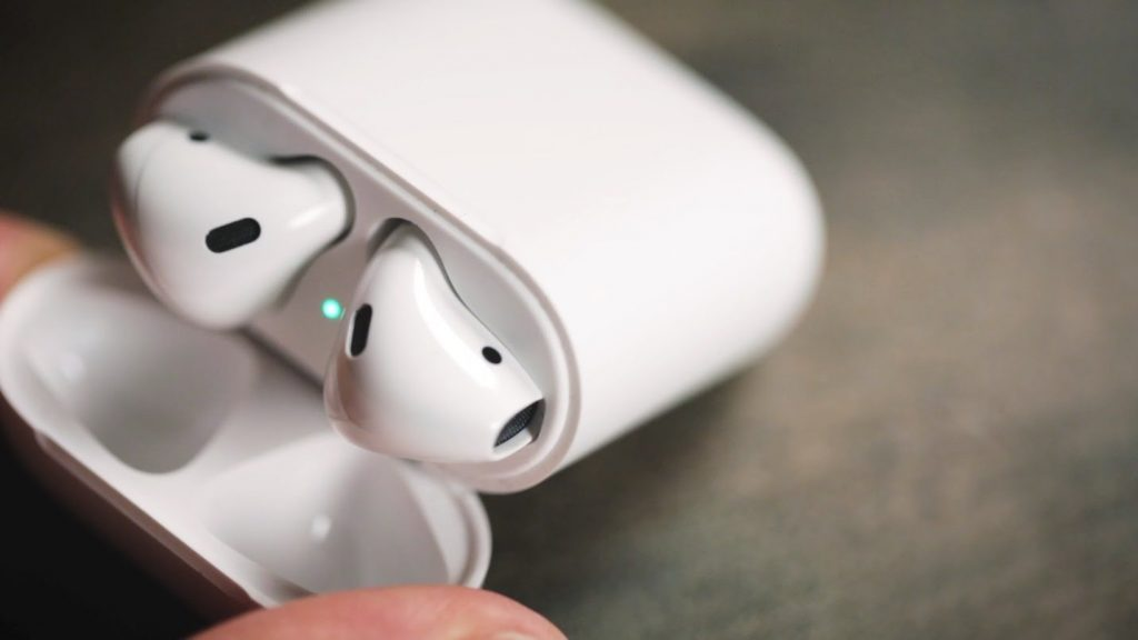 Just open the carrying case of your Apple airpods in the vicinity of your device to connect it..