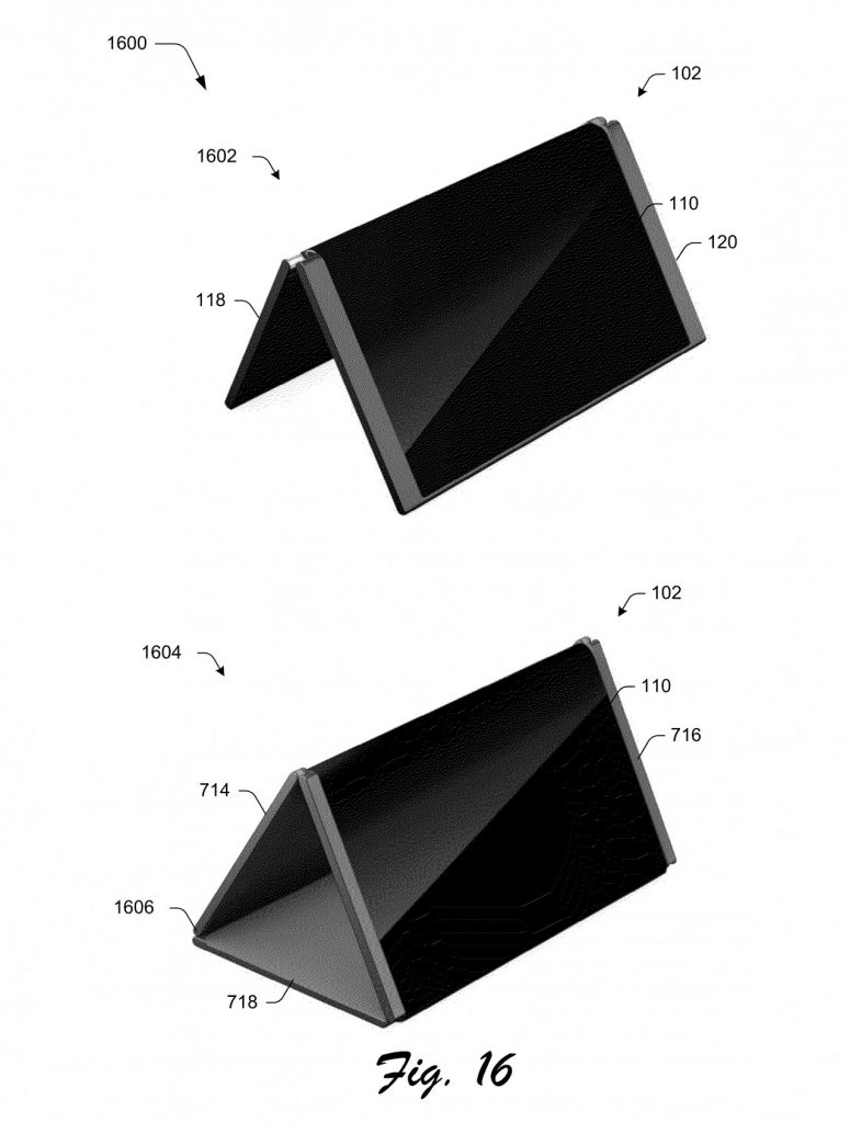 Microsoft Foldable Surface Phone concept gets its patent from the USPTO.