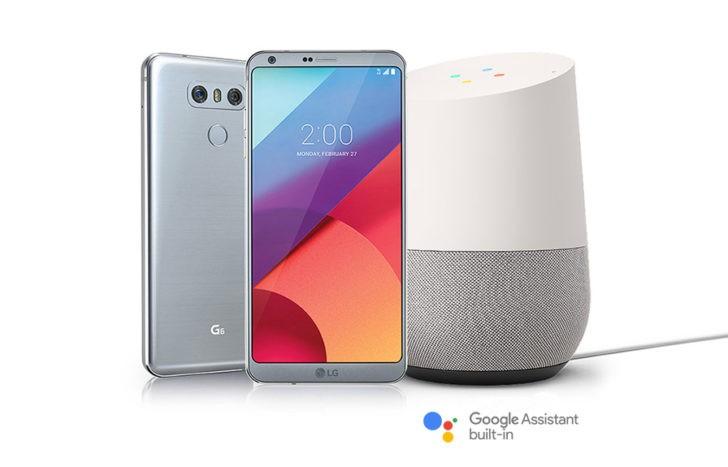 LG G6 Google Home Free